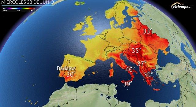 calor europa españa frio