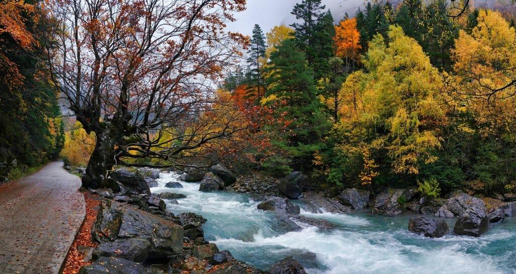 otoño tiempo santos