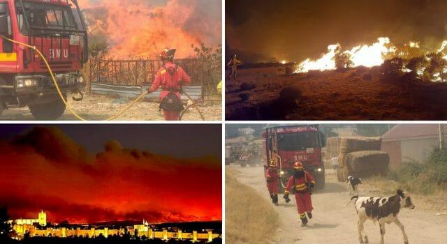 incendios españa verano 2021 agosto