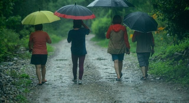 paraguas DANA retrógrada lluvia