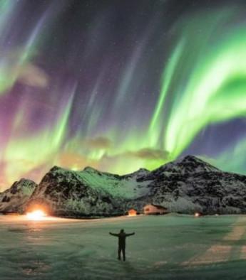 7 rincones irreconocibles bajo una aurora boreal