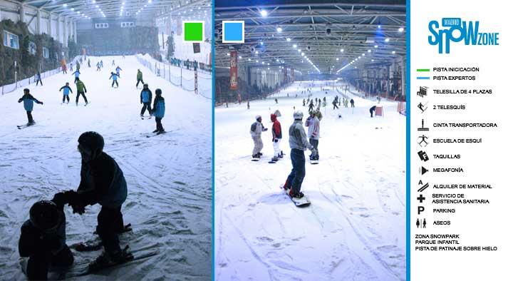 El Tiempo en Madrid Snowzone