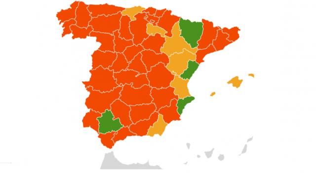 Récord de provincias en nivel rojo por polen