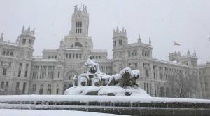 Madrid, sepultada bajo la nieve: las mejores fotos de una nevada histórica