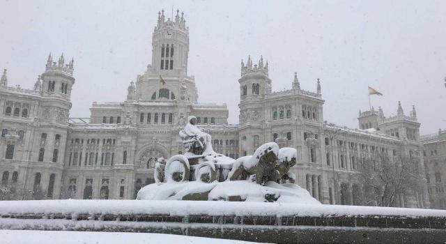 Así silenció Madrid la borrasca Filomena