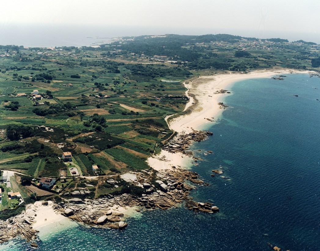El tiempo en las playa de areas de reboredo for Servicio tecnico roca pontevedra