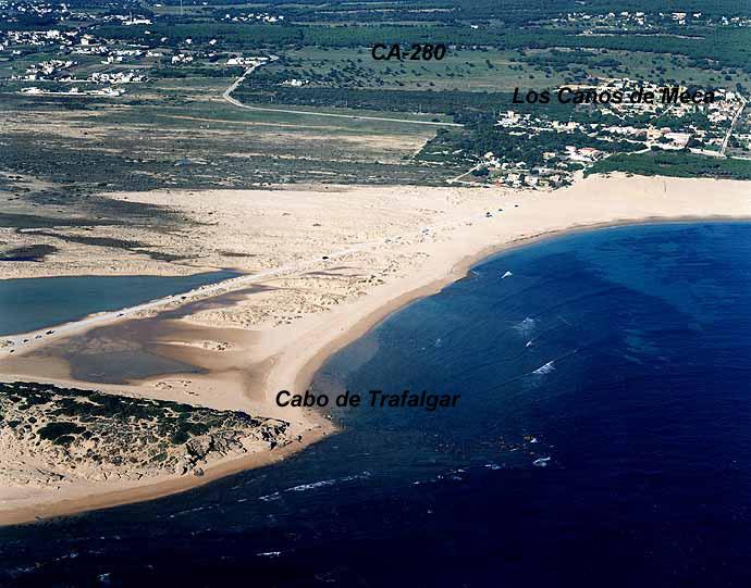 Marea en Conil (12.6km de Caños de Meca)