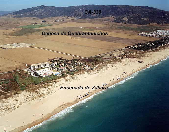 El Tiempo en las playa de Zahara de los Atunes