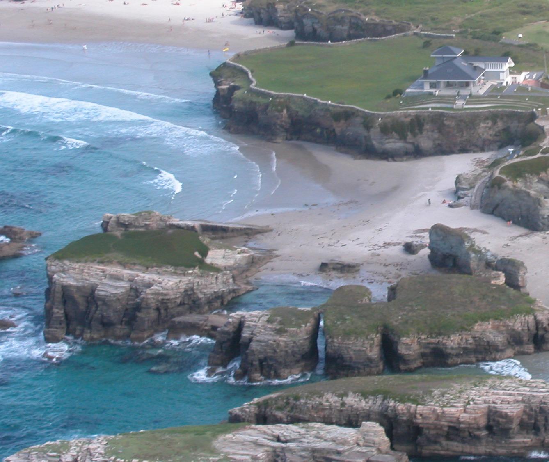 El tiempo en las playa de os castros - El tiempo en parga lugo ...
