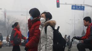 Alerta roja: Contaminación en China