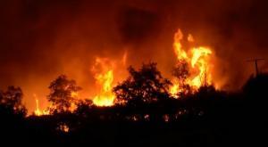 Grave oleada de incendios en el norte de España