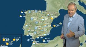 Avisos por tormentas en media España
