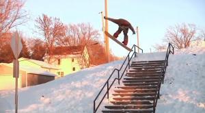 ¡Saltos de infarto en snowboard!