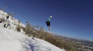 En la piel de un esquiador