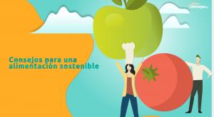 Consejos básicos para seguir una alimentación saludable (y sostenible)
