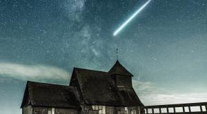Llegan las Eta Acuáridas: la lluvia de estrellas del cometa Halley