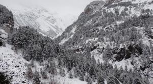 ¿Es Suiza? No, son los idílicos paisajes nevados del Pirineo Aragonés