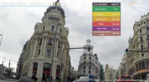 ¿Cómo ha variado la calidad del aire en Madrid en los últimos años?