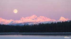 """Un timelapse de la """"luna de la nieve"""" como nunca antes habías visto"""
