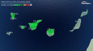 Vuelve la lluvia a Canarias: echa un vistazo