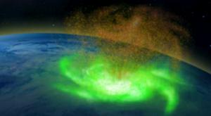 La primera imagen de un huracán espacial en la Tierra