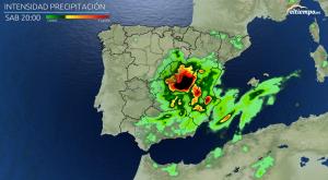 Así se moverán las tormentas en las próximas horas