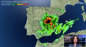 Las tormentas dan una nueva embestida: avisos naranjas activados