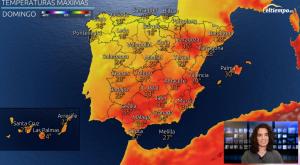 Diferencia de 20ºC entre norte y sur este fin de semana