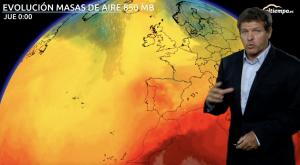 Semana de alivio térmico y tormentas