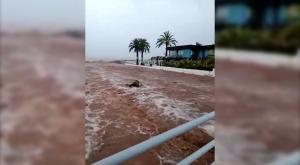 Benicassim, inundado: los vídeos de la insólita tormenta