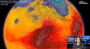 48 horas de intensa lluvia: avisos en toda la Península