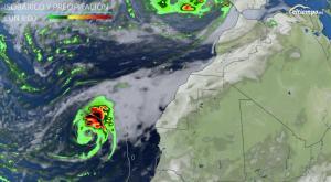 Así se formará el ciclón tropical que vigilamos su rumbo hacia Canarias