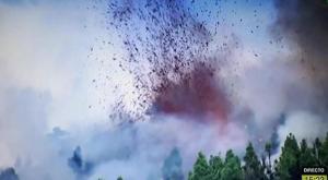 Así se ha visto la erupción del volcán de la Palma en directo