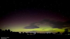 Las impresionantes auroras boreales que nos deja la tormenta solar