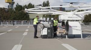 ¿Viajar en dron? Finaliza el primer trayecto en dron eléctrico