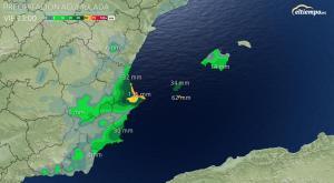 Viernes lluvioso en algunas zonas
