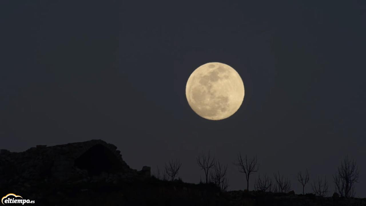 No te pierdas la s perluna esta noche for Que luna hay esta noche