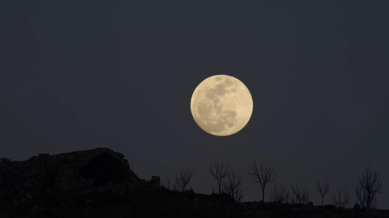 por qu hay luna llena siempre en semana santa