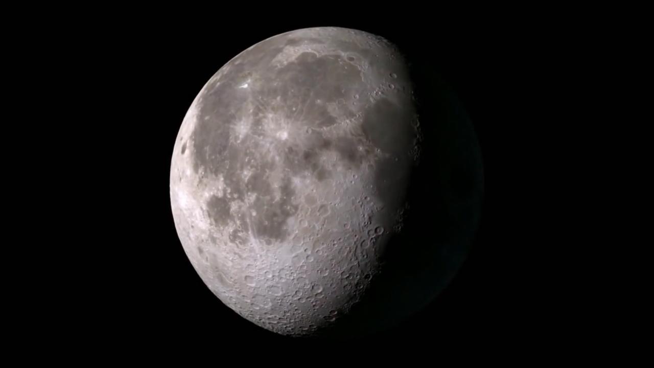 confirmado la luna est seca por dentro