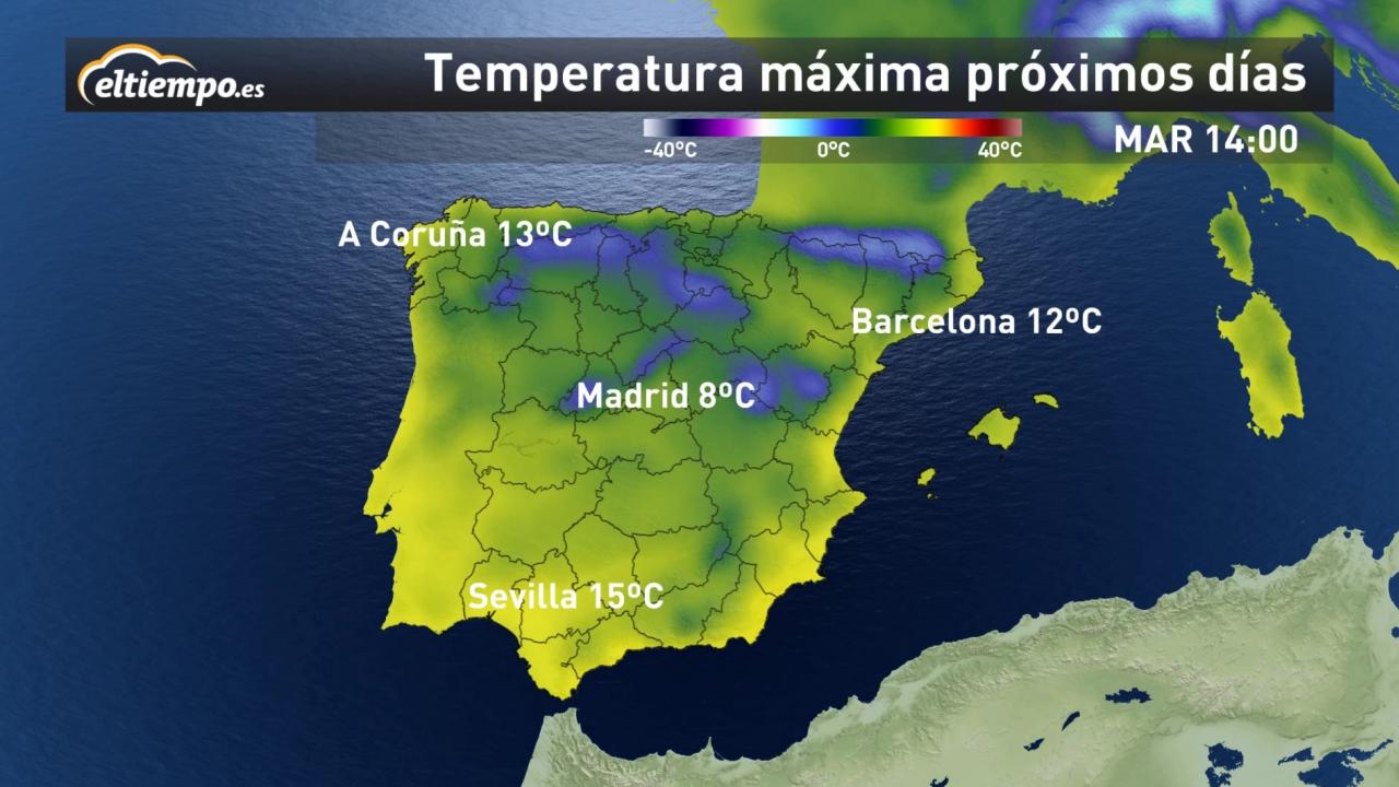 Subirán Las Temperaturas En Esta Semana