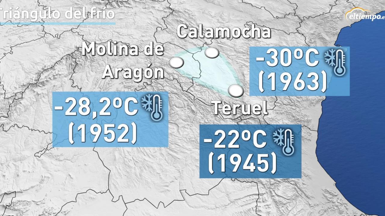 El Triángulo Del Frío En España Hasta 30ºc