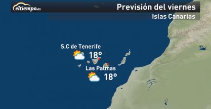 Canarias: el tiempo este fin de semana