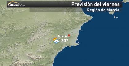 El tiempo en Murcia este fin de semana