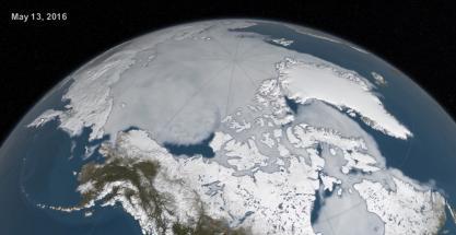 El hielo del Ártico alcanza su segundo nivel más bajo