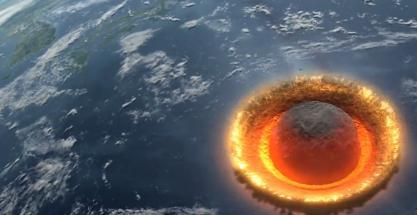 ¿Y si cayera un gran meteorito sobre la Tierra?
