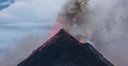 ¿Qué pasaría si todos los volcanes erupcionaran a la vez?