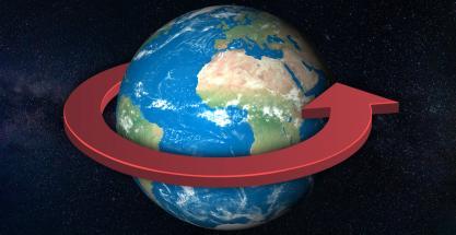 ¿Qué pasaría si la Tierra girase al revés?