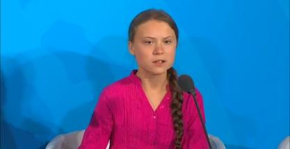 """El discurso de Greta Thunberg: """"Estamos ante una extinción masiva"""""""