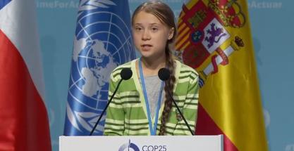 El discurso de Greta Thunberg en la COP25 de Madrid
