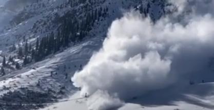 Más de 130 avalanchas durante estos días. ¡Impresiona verlo!